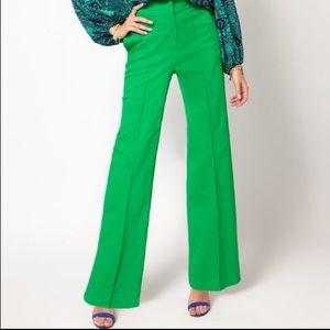 NWOT Jungle Green High Waist Wide Legs in size 6